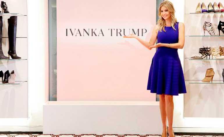 Critica Trump a tienda de ropa y defiende a su hija