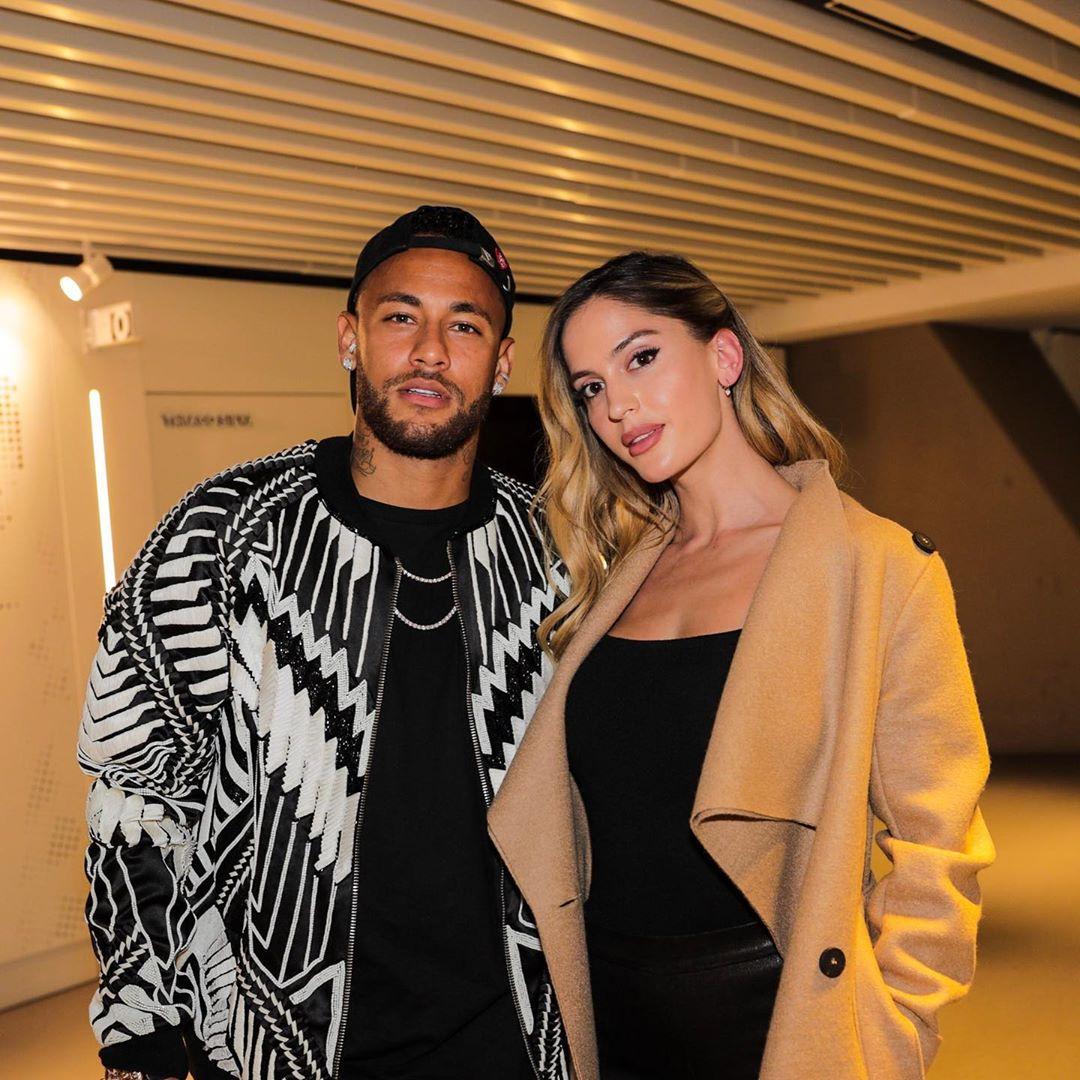 Neymar y Natalia Barulich