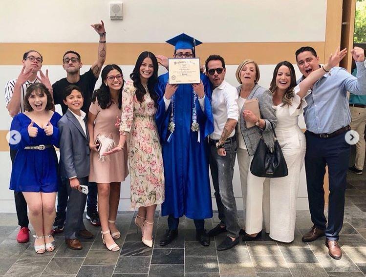 Graduación de Cristian Muñiz