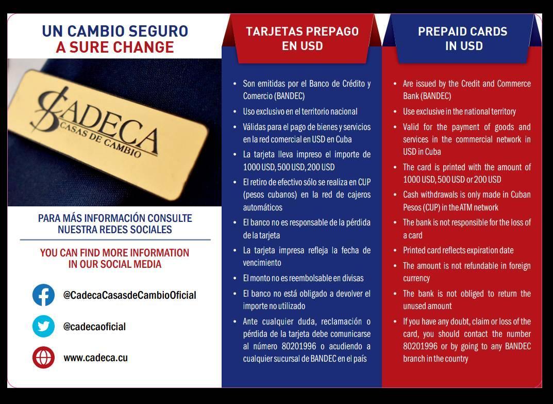 | Bildquelle: https://www.cibercuba.com/noticias/2021-05-31-u1-e199370-s27061-gobierno-cuba-lanza-tarjeta-prepago-dolares-reembolsable © Alejandro Velazco / Facebook | Bilder sind in der Regel urheberrechtlich geschützt