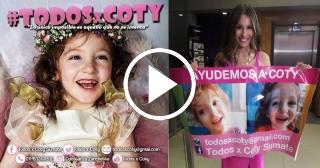 Todos x Coty, una campaña que busca enviar a una niña a Cuba para atenderse