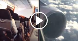 "Pasajeros captan aterrador momento en que avión ""vibra como una lavadora"" (+VIDEOS)"