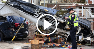 Una avioneta se estrella en plena calle de New Jersey