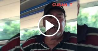 La arenga de un borracho revolucionario en Cuba