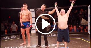 Peleador de UFC hace realidad el sueño de un fanático con síndrome de Down