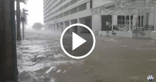 Brickell bajo el agua: el huracán Irma inunda el centro de Miami