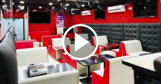 La nueva imagen del bar 3D de Robertico después del huracán Irma