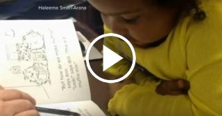 Niña prodigio: tiene solo 4 años de edad y ha leído cientos de libros