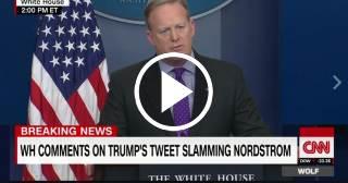 Portavoz de la Casa Blanca defiende el uso personal dado por Trump a la cuenta de @Potus