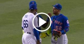Céspedes regaña a Puig tras celebrar jonrón ante los Mets