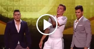 La desternillante imitación de un humorista argentino de Cristiano Ronaldo
