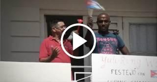 """""""Cuando Gurriel sale con la bandera cubana todos nos paramos a aplaudir"""""""