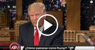 Cómo peinarse como Donald Trump