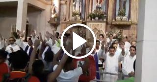Así fue la víspera de San Lázaro en El Rincón, Habana, Cuba
