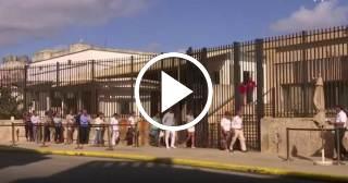 Reacciones en la Embajada de Estados Unidos en Cuba por las Elecciones Presidenciales de EE.UU