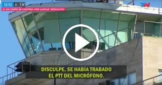 """Piloto bloquea comunicaciones de un aeropuerto de Argentina cantando """"Despacito"""""""