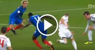 Los equipos de fútbol de Francia y Portugal clasificaron al Mundial de Rusia 2018