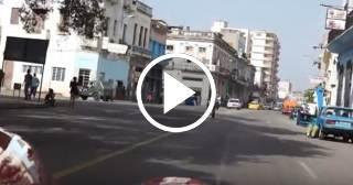 Trece minutos viajando por toda La Habana