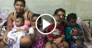 Madre cubana trabajadora vive con sus 6 hijos en condiciones deplorables