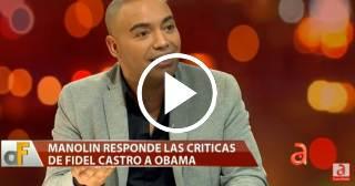 Manolín habla sobre la carta que le hizo a Fidel Castro