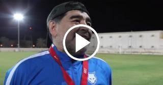 "Maradona a CR7: ""¡Decile que no joda!"""