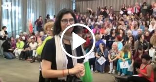 Cientos de mujeres en Miami demandan igualdad también en área de las artes
