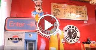 El Museo de la Hamburguesa, un paraíso para los amantes de la comida rápida