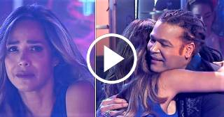Amaury Gutiérrez emociona a la venezolana Mónica Pasqualotto con canción a su país