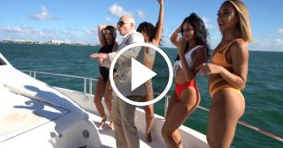 Así se grabó el último videoclip de Pitbull