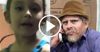 """El pedido de la hija de Luis Silva: """"quiero que vayas a mi escuela vestido de Pánfilo con Facundo y Chequera"""""""
