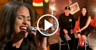 Melissa, la hija de Manolín, hace su debut musical en televisión