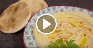 Recetas de hummus de garbanzos, de judías blancas y de remolacha