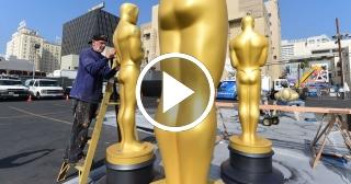 Preparativos para la gala de los Premios Óscar