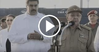 Así agradeció Raúl Castro la ayuda humanitaria del gobierno de Venezuela