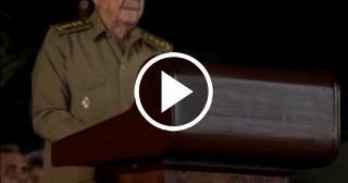 Las últimas palabras de Raúl Castro en el homenaje a Fidel Castro