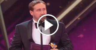 Un Ryan Gosling falso recoge un premio en Alemania por La La Land