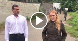 Impiden a Lilian Tintori visitar Leopoldo López luego de las denuncias de tortura