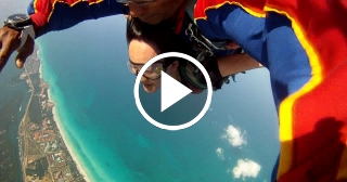 ¡Un salto desde cielo al Paraíso!