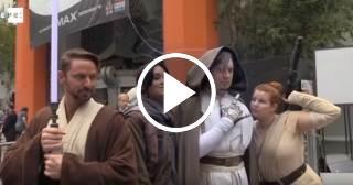 """Cines de EEUU acogen este fin de semana nueva entrega de """"Star Wars"""""""
