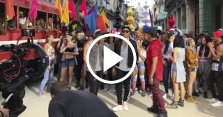 """Conozca la filmación del remix de """"Súbeme la radio"""" con Descemer Bueno y otros artistas internacionales"""