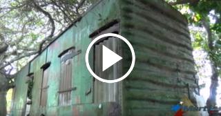 Familia cubana lleva viviendo 25 años en un vagón de tren