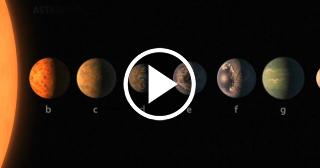 La NASA encuentra un Sistema Estelar con siete planetas similares a la Tierra