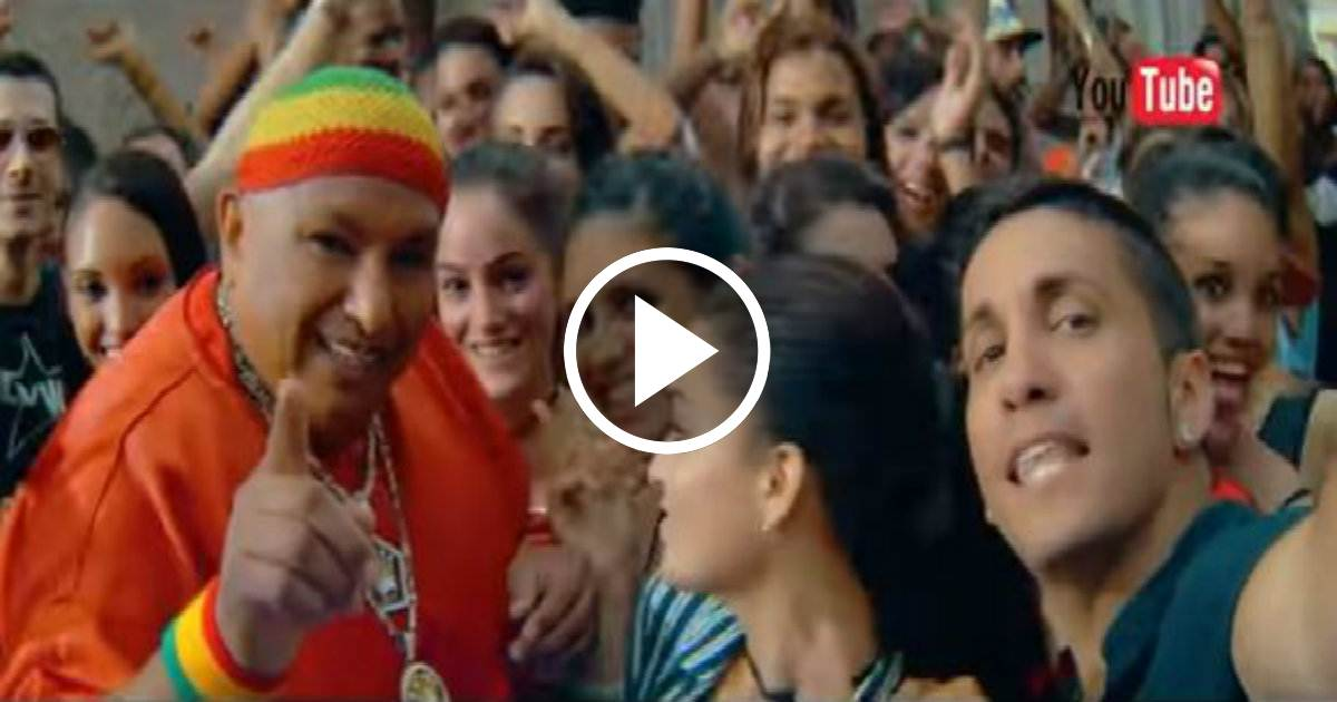 Así grabaron DKB y King África el video de El Tembleque en La ... - CiberCuba