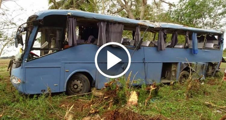 Cuba: Se vuelca un ómnibus Yutong dejando 55 lesionados, seis en estado grave