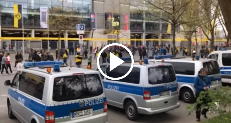 Detenido el presunto autor del atentado del Borussia Dortmund