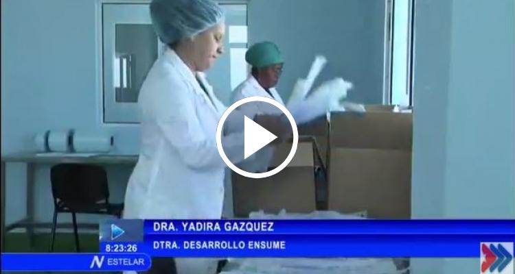 Inauguran planta de esterilización de dispositivos médicos en La Habana