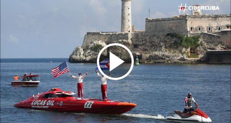 Dos estadounidenses establecen nuevo récord en lancha rápida de Cayo Hueso a La Habana