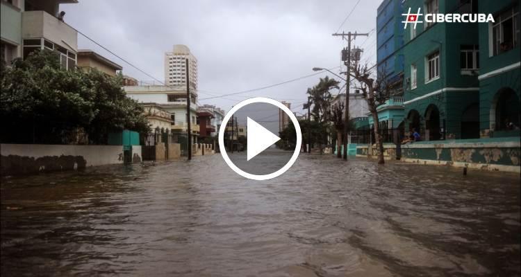 El huracán Irma causa destrozos en Cuba