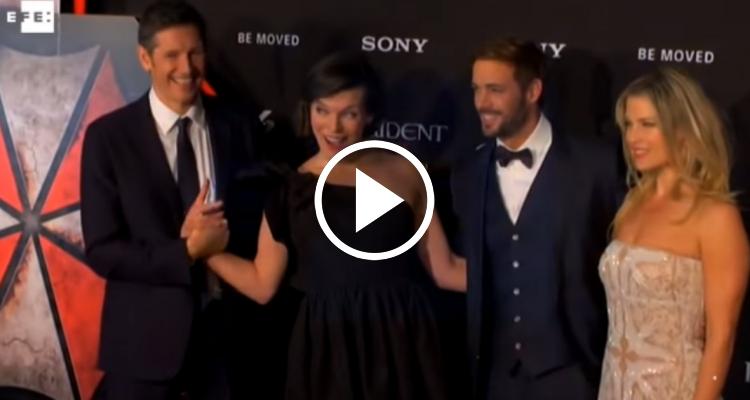 Milla Jovovich presenta en México la sexta y última entrega de Resident Evil