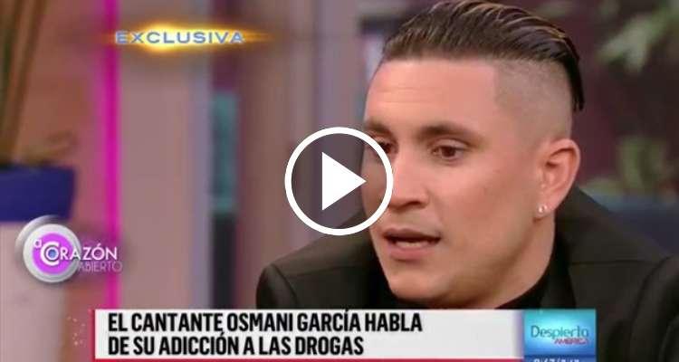 Osmani García habla de su adicción a las drogas